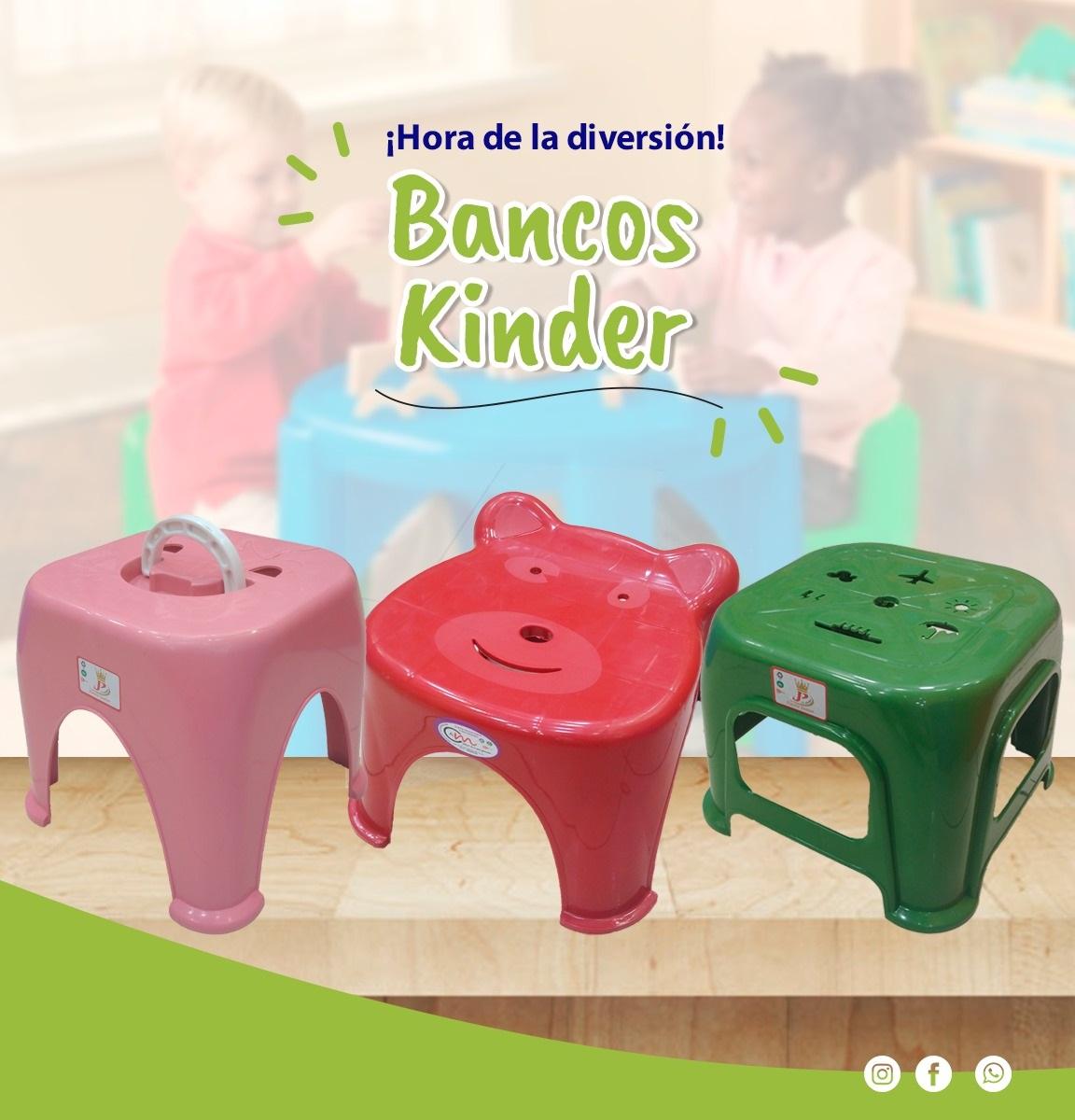 Bancos Kinder