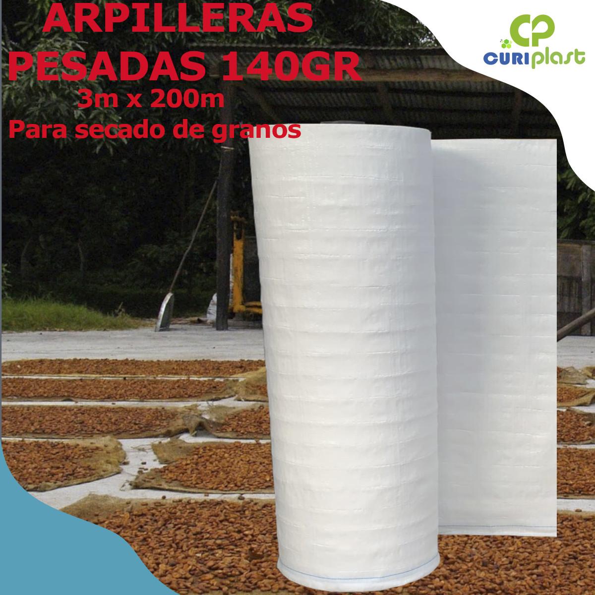 arpillera de 3m blanca 140gr