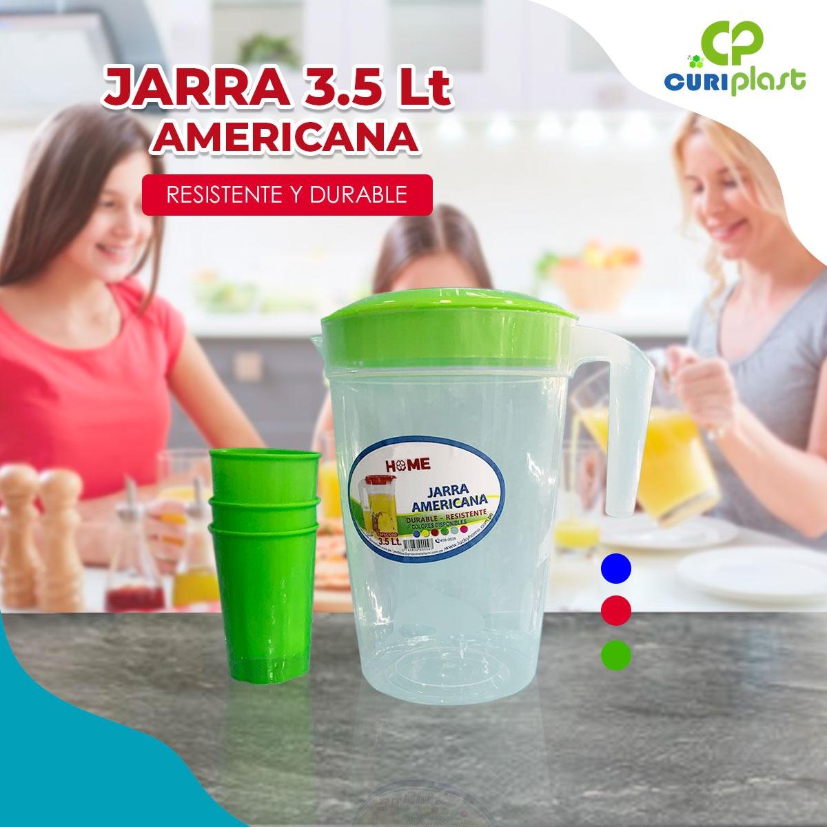 jarra americana 3.5 lt con vaso