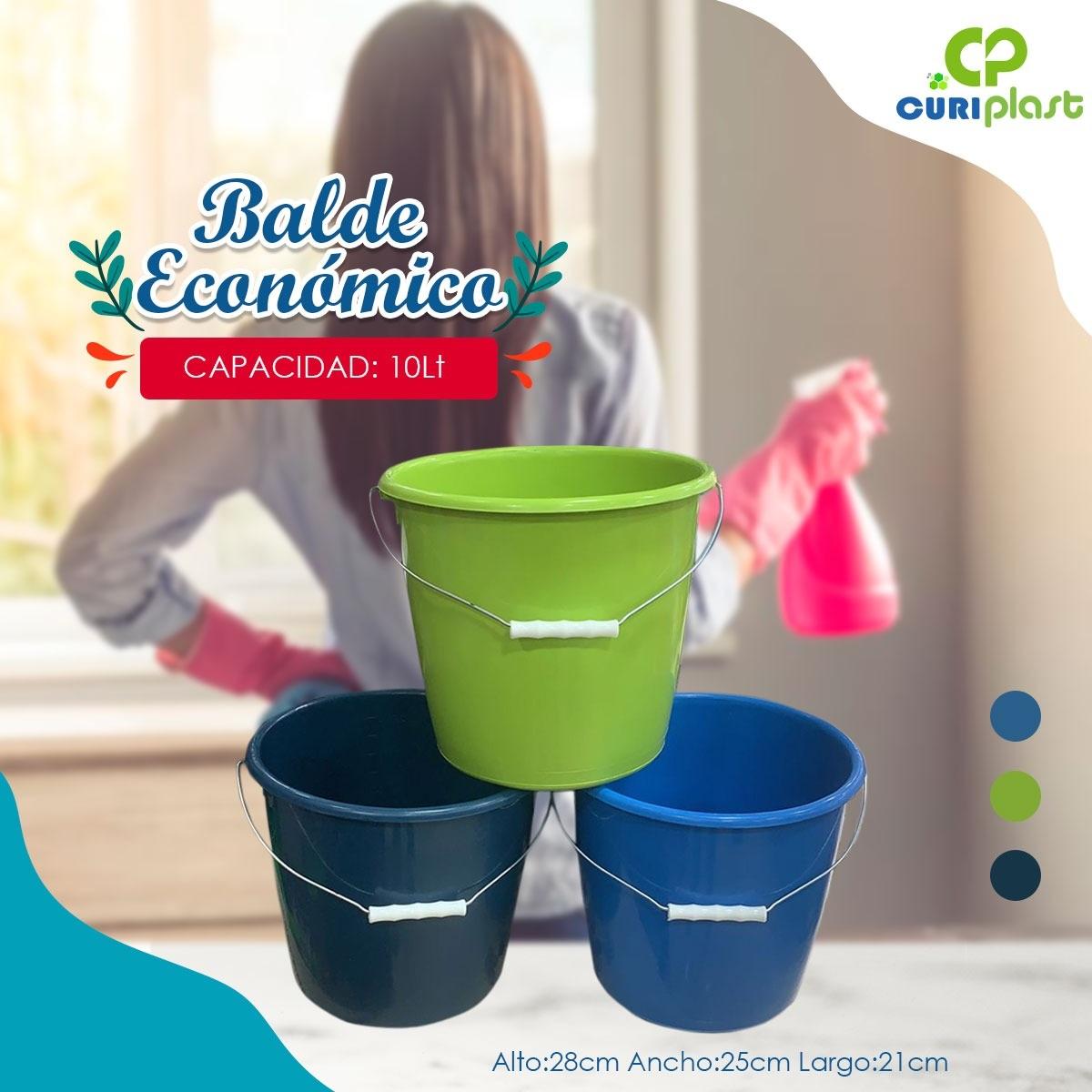 baldes plásticos resistentes
