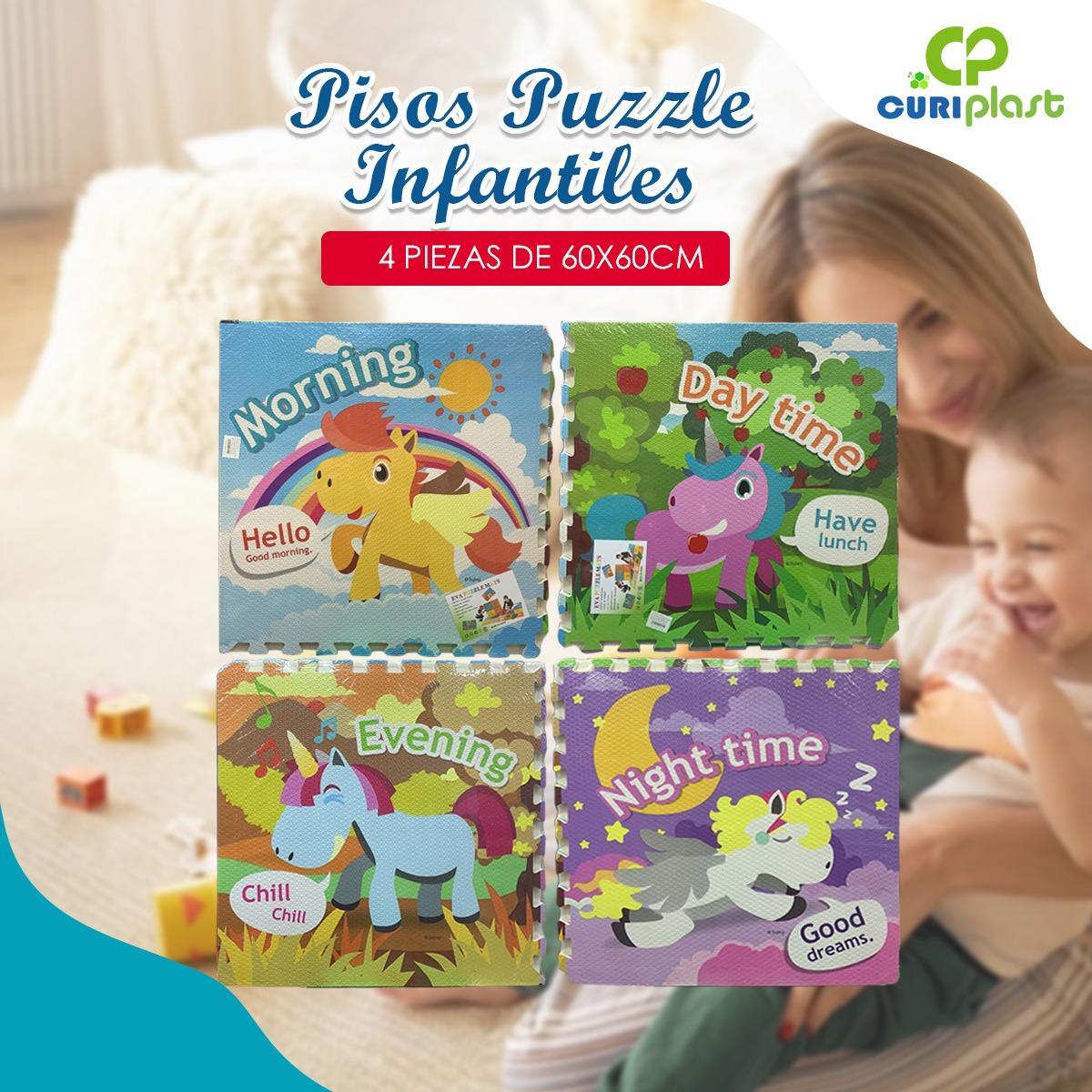 pisos puzzle infantil unicornio
